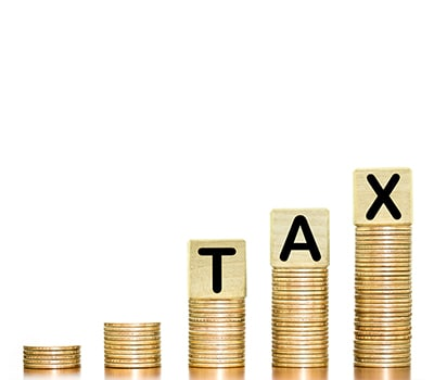 Increasing Tax on Coin Graph